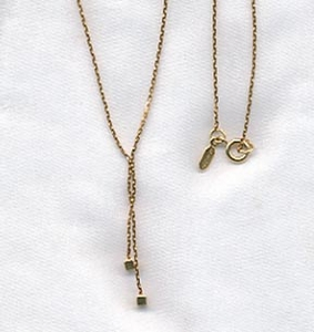 DAINTY DICE Necklace