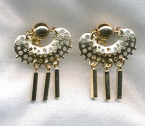 CHARISMA Earrings - Goldtone Clip