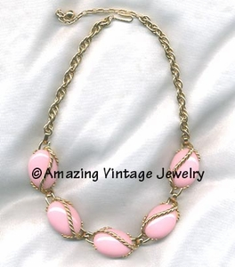 PINK TWIST Necklace