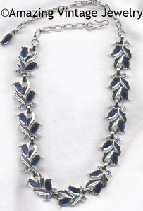 BLUE CHAMPAGNE Necklace