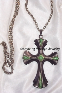 18th CENTURY CROSS Necklace