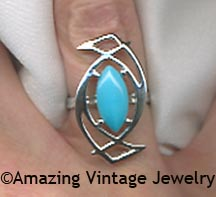 BLUE MOONLET Ring