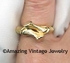 BAMBOO Ring - Goldtone