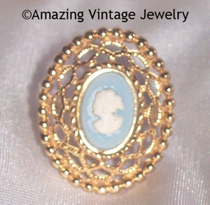 CAMEO LACE Ring
