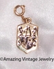 GOLD COAT OF ARMS Charm