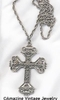 FLORENTINE CROSS Necklace