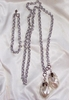 Necklace/Bracelet Combo with Faux Pearl dangles
