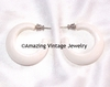 WHITE MAGIC Pierced Earrings