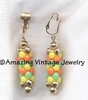 CAROUSEL Earrings Yellow & Orange