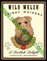 Wild Welsh Frisky Whiskey - A Devilish Delight