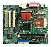 DELL MOTHERBOARD WITH HARD DRIVE BACKPLANE ASSEMBLY FOR POWER VAULT P/N: 8N662