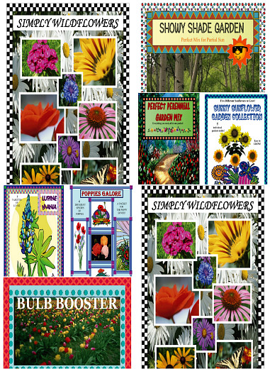 Jumbo Seed Packet Sampler