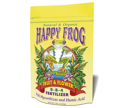 Fox Farm's 'Happy Frog' Fruit & Flower Organic Fertilizer
