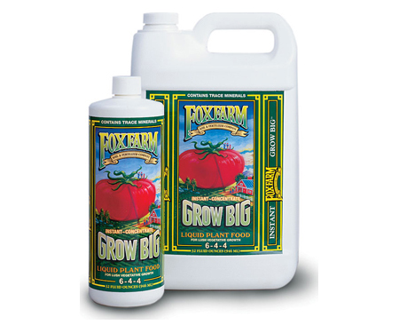 FoxFarm Grow Big Extra Strength Liquid Plant Food