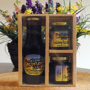 Vermont Wildflower Farm Syrup & Jam Gift Pack