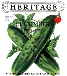 HERITAGE Cucumber Straight 8 Seeds
