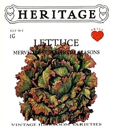 HERITAGE Lettuce Merveille Des Quartre Seasons Seeds