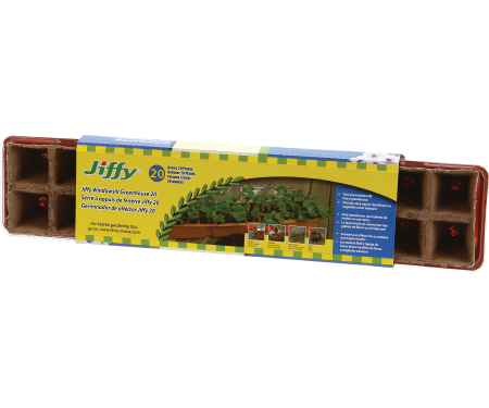 Jiffy Windowsill Greenhouse 20