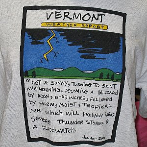 VT Weather Report T-Shirt