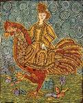 Czech Lady by Sharon Smith - Pattern Only or Complete Rug Hooking Kit