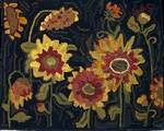 Sunflowers by Sharon Smith-Pattern and Complete Rug Hooking Kit