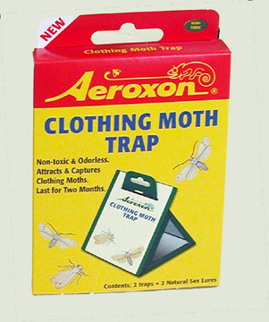 Clothing Moth Trap for Rug Hooking Wool