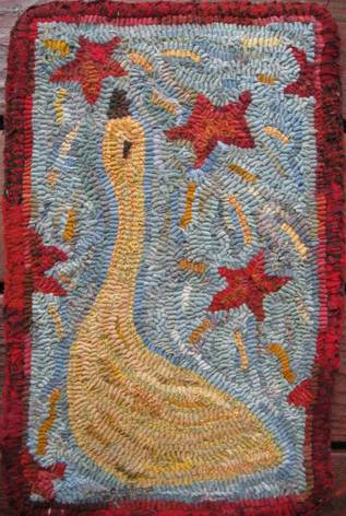 Star Gazer by Marijo Taylor-Pattern Only or Complete Rug Hooking Kit