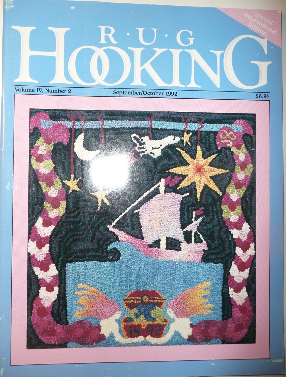 Pre Owned Rug Hooking Magazines Past