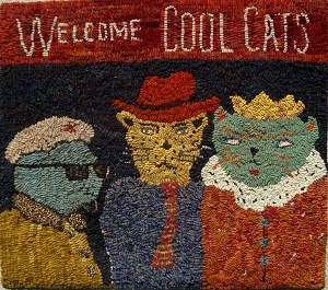 Cool Cats by Sharon Smith - Pattern only or Complete Kit