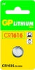 DL1616 - 3V lithium button cell 55mAh