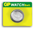 G13 silver oxide button cell, 1.55V 165mAh