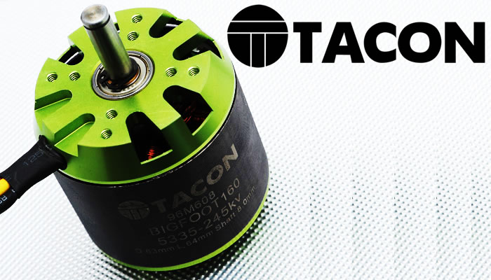 Tacon Big-Foot Motors for RC Planes