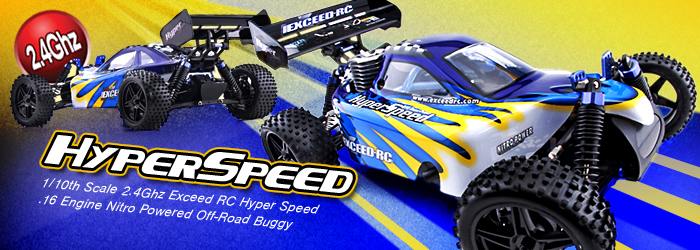 Hyper Speed Nitro 1/10 Buggy