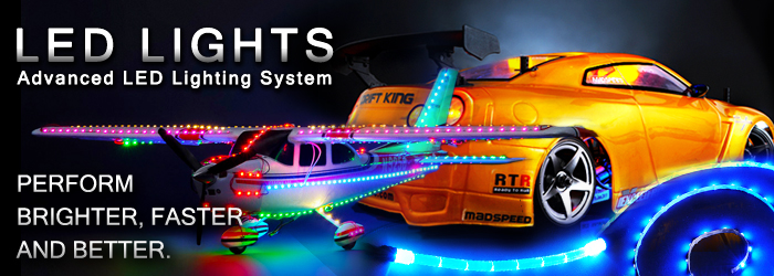 Customize Your Hobby with LED Lights