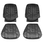 1966 EL CAMINO FRONT BUCKET SEAT COVERS FAWN