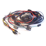 1965-1966 Chevelle Hei Engine Harness Sb W/ Warning Lights