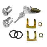 1966-1967 CHEVELLE LOCK SET IGNITION AND DOORS