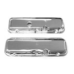 1964-72 Chevelle Small Block Valve Covers Chrome
