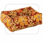 "Bowsers-""Calypso"" -  Microvelvet Dutchie Dog Bed"