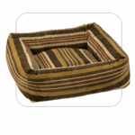 "Bowsers-""Canyon Stripe"" -  Microvelvet Dutchie Dog Bed"
