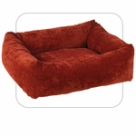 "Bowsers-""Cherry Bones"" -  Microvelvet Dutchie Dog Bed"