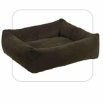 "Bowsers-""Espreso"" -  Microvelvet Dutchie Dog Bed"