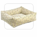 "Bowsers-""Milano"" -  Microvelvet Dutchie Dog Bed"