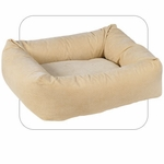 "Bowsers-""Vanilla Treats"" -  Microvelvet Dutchie Dog Bed"