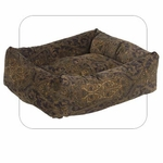 "Bowsers-""Windsor"" -  Microvelvet Dutchie Dog Bed"