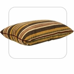"Bowsers-Rectangle Dog Bed -  ""Canyon Stripe"""