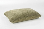"Bowsers-Rectangle Dog Bed -  ""Paisley Taupe"""