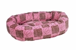 Bowsers Donut Dog Bed-Tickled Pink