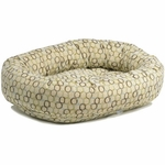 Bowsers Microvelvet Donut Dog Bed-Milano