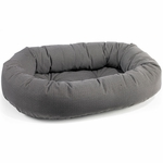 Bowsers Microvelvet Donut Dog Bed-Tattersal